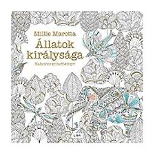 Libri Könyvkiadó Millie Marotta: Állatok királysága - Kalandos színezőkönyv hobbi, szabadidő