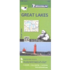 MICHELIN 173. Great Lakes térkép Michelin 2012 1:500 000