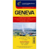 Cartographia Genf várostérkép Cartographia
