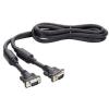 Qoltec XGA monitor kábel  2x Ferrit  M / M  1.5m