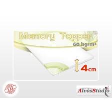 Alvásstúdió memory fedőmatrac 90x200x4 cm Aloe Vera huzattal ágy és ágykellék