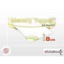Alvásstúdió memory fedőmatrac 90x200x8 cm Aloe Vera huzattal ágy és ágykellék