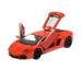 1:14 méretarányú, piros RC autó