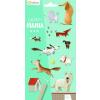 Avenue Mandarine Decalco Mania - Kutya satírozós matrica
