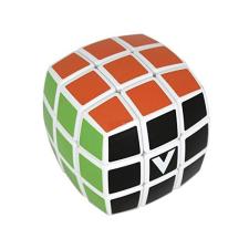 V-Cube 3x3 versenykocka - fehér, lekerekített, matrica nélküli 000034 logikai játék