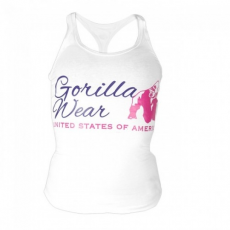 Gorilla Wear Women's Classic Tank Top White