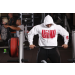 Universal Nutrition Animal Hooded Sweatshirt white