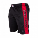Gorilla Wear Track Shorts Black/Red