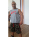 MuscleKiller Muscle Killer Hard Sleeveless Gray