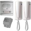 Golmar 4220/AL kétlakásos audio kaputelefon szett