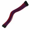 Nanoxia 24-Pin ATX-hosszabbító 0,3 Meter - Kék/Piros