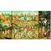 Educa : Hieronymus Bosch: Gyönyörök kertje  - 9000 darabos kirakó - puzzle