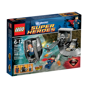 LEGO 76009 Superman& Black Zero
