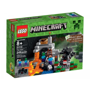 LEGO 21113 Minecraft Micro World: A barlang
