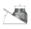 Tricox Ferde tető borítás téglavörös 100-125mm hűtés, fűtés szerelvény