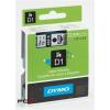 """DYMO Feliratozógép szalag, 9 mm x 7 m, DYMO """"D1"""", zöld-fekete"""