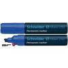 """SCHNEIDER Alkoholos marker, 2-7 mm, vágott, SCHNEIDER """"Maxx 250"""", kék"""