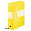 "ESSELTE Archiváló doboz, A4, 100 mm, karton, ESSELTE ""Standard"", sárga"