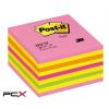 3M POSTIT Öntapadó jegyzettömb, 76x76 mm, 450 lap, 3M POSTIT, lollipop pink