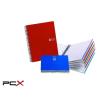 "MIQUELRIUS Spirálfüzet, A4, vonalas, 150 lap, MIQUELRIUS ""Note Book 6"", piros"