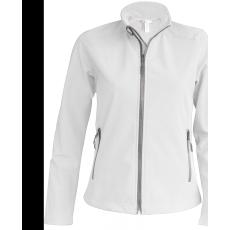 KARIBAN női SOFTSHELL dzseki, fehér (Kariban női SOFTSHELL dzseki, 3 rétegű préselt, lélegző és)