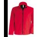 KARIBAN férfi SOFTSHELL dzseki, piros (Kariban férfi SOFTSHELL dzseki, 3 rétegű préselt, lélegző és)