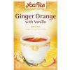 Yogi bio narancsos gyömbér tea vaníliával 17db