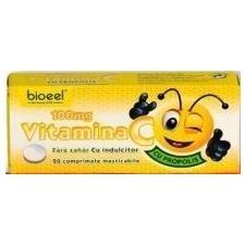 Bioeel C-vitamin propolisszal 100mg rágótabletta 20db vitamin