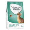 Concept for Life Sterilised Cats - 2 x 10 kg