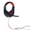 4world Stereo Headset kényelmes fülpárnákkal és mikrofonnal