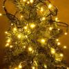 Karácsonyi rizsszem füzér IP44, kültérre is! 100 db meleg fehér leddel. 8 funkciós, villogtató memóriás vezérlővel. Life Light led ÚJ!