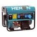 benzinmotoros áramfejlesztő, max 6800 VA, egyfázisú (EGM-68 AVR-1E), önindítós