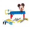 Disney Mickey egér szerelőasztal, kis kocsiban
