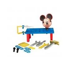 Disney Mickey egér szerelőasztal, kis kocsiban barkácsolás, építés