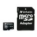"Verbatim Memóriakártya, microSDHC, 32GB, Class 10 UHS I, adapterrel, VERBATIM ""PRO+"""