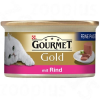 Gourmet Gold Paté 12 / 24 / 48 x 85 g - Kacsa & spenót (12 x 85 g)
