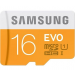 Samsung Card MICRO SDHC Samsung 16GB EVO UHS-I CL10 + USB adapter