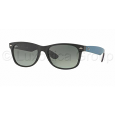 Ray-Ban RB2132 618371 NEW WAYFARER MATTE BLACK GREY GRADIENT DARK GREY napszemüveg (RB2132__618371)