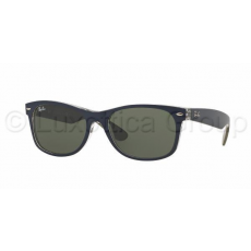 Ray-Ban RB2132 6188 NEW WAYFARER MT BLUE/MILITARY GREEN GREEN napszemüveg (RB2132__6188)