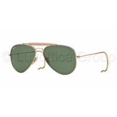 Ray-Ban RB3030 L0216 OUTDOORSMAN ARISTA CRYSTAL GREEN napszemüveg (RB3030__L0216)