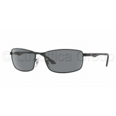 Ray-Ban RB3498 006/81 MATTE BLACK POLAR GRAY napszemüveg (RB3498__006_81)