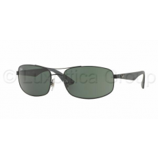 Ray-Ban RB3527 006/71 MATTE BLACK GREY GREEN napszemüveg (RB3527__006_71)