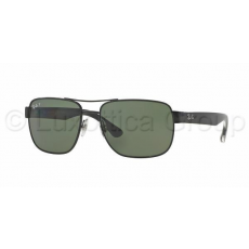 Ray-Ban RB3530 002/9A BLACK POLAR GREEN napszemüveg (RB3530__002_9A)