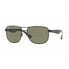 Ray-Ban RB3533 002/9A BLACK POLAR GREEN napszemüveg (RB3533__002_9A)