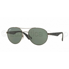 Ray-Ban RB3536 029/71 MATTE GUNMETAL GRAY GREEN napszemüveg (RB3536__029_71)