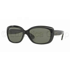 Ray-Ban RB4101 601/58 JACKIE OHH BLACK CRYSTAL GREEN POLARIZED napszemüveg (RB4101__601_58)