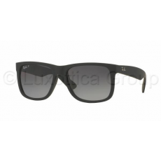 Ray-Ban RB4165 622/T3 JUSTIN BLACK RUBBER POLAR GREY GRADIENT napszemüveg (RB4165__622_T3)