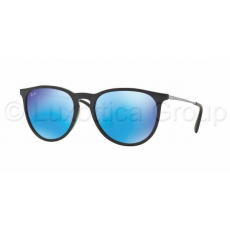 Ray-Ban RB4171 601/55 ERIKA BLACK LIGHT GREEN MIRROR BLUE napszemüveg (RB4171__601_55)