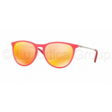 Ray-Ban RJ9060S 70096Q FUXIA FLUO TRASP RUBBER BROWN MIRROR ORANGE napszemüveg (RJ9060S__70096Q)
