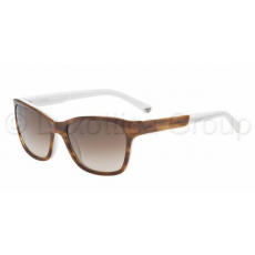 Emporio Armani EA4004 504713 STRIPED BROWN/CREAM BROWN GRADIENT napszemüveg (EA4004__504713)